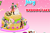 Gâteau de mariage pour fée
