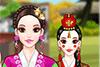 Mariée coréenne à habiller