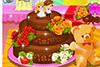 Wedding cake au chocolat