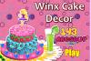 Décore un gâteau Winx