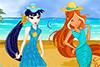 Habille 2 fées pour les vacances d'été