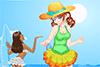 Une tenue de plage pour Eva