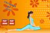 Habille une prof de yoga